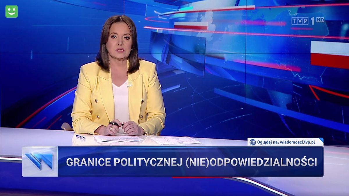 """""""Wiadomości"""" pokazały fragment fikcyjnego filmu, który internauci powiązali z sytuacją na granicy"""