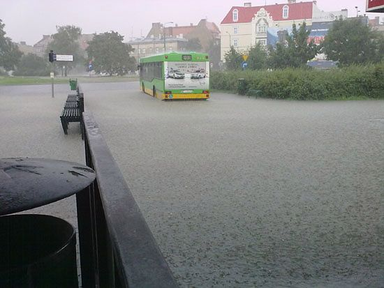 Zalało jak podczas potopu - Wasze zdjęcia