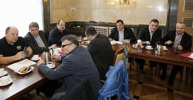 Delegacja rządowa przeprasza górników: nie chcieliśmy nikogo obrazić