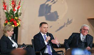 W Berlilnie prezydent Andrzej Duda sięgnął po argumenty z internetowych memów.