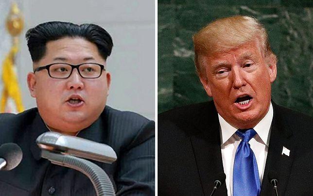 Kim Dzong Un i Donald Trump