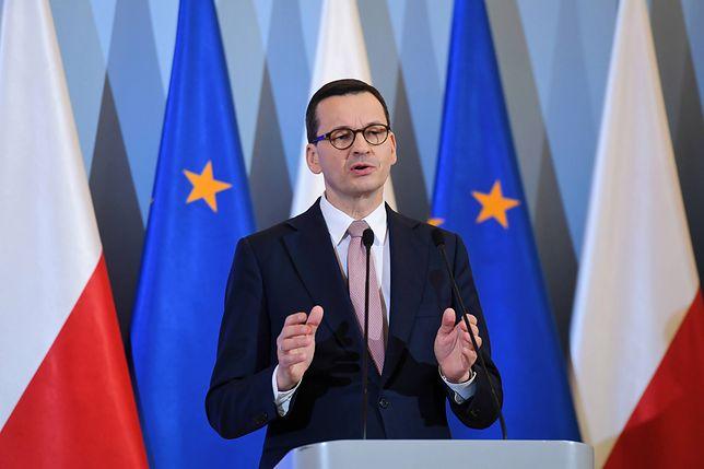 Postanowienie TSUE nie spodobała się polskiemu rządowi. Jest reakcja Mateusza Morawieckiego
