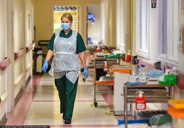 Koronawirus w Wielkiej Brytanii. Niepokojące informacje