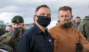 Wybory prezydenckie 2020. Andrzej Duda. Najnowsze sondaże jak zimny prysznic dla obozu władzy