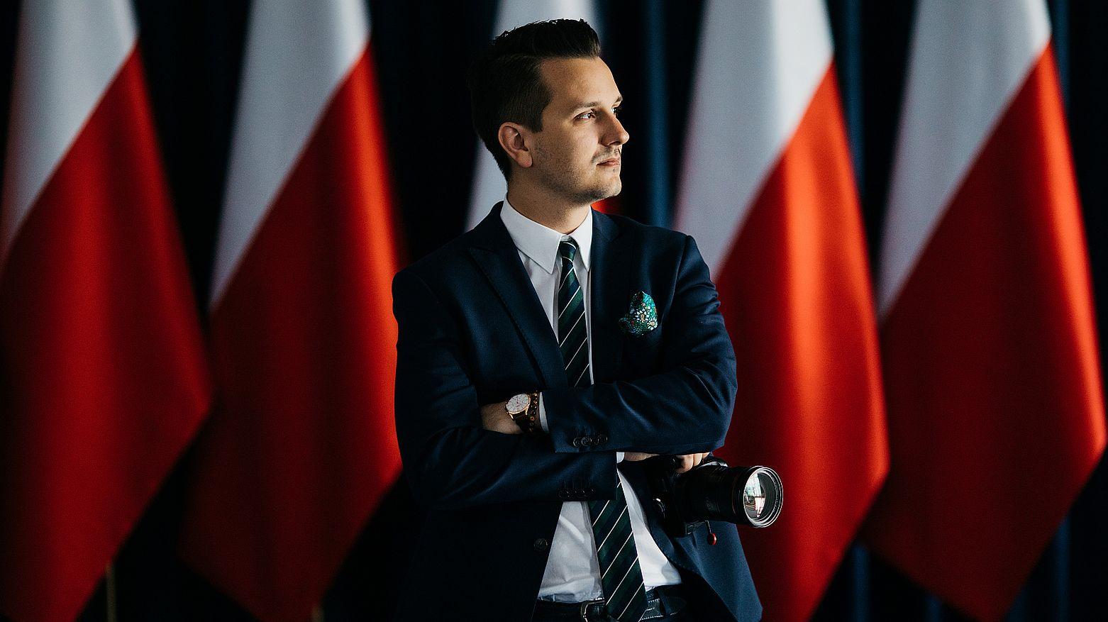 Jakub Szymczuk, osobisty fotograf prezydenta RP
