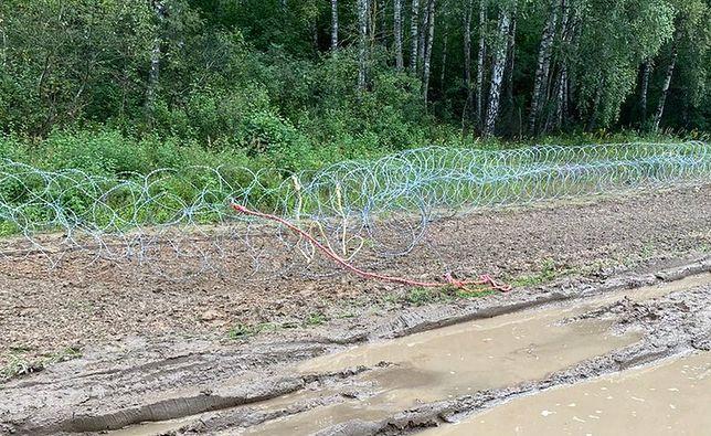 Kryzys z Białorusią. 13 osób zatrzymanych za niszczenie płotu na granicy