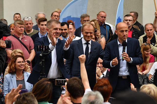 Wizyta Donalda Tuska w Szczecinie