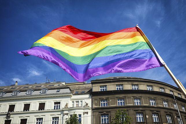 Flaga LGBT mniejszości