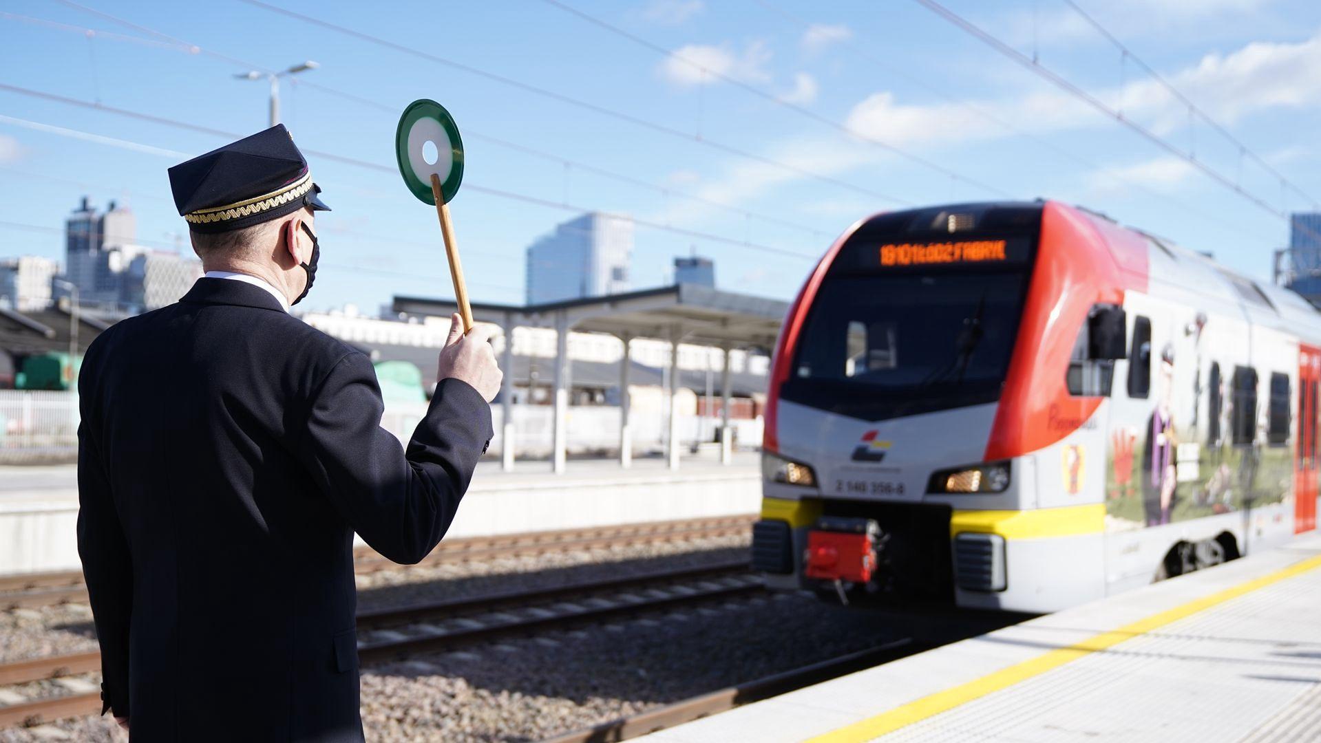 Otwarcie stacji kolejowej Warszawa Główna. Marzec 2021 roku