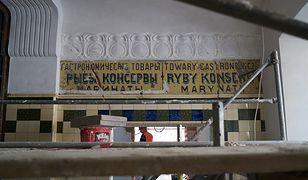 Niezwykłe odkrycie podczas odbudowy Hali Koszyki
