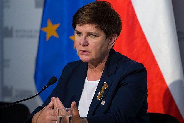 Premier Beata Szydło na Twitterze dziękuje za wsparcie
