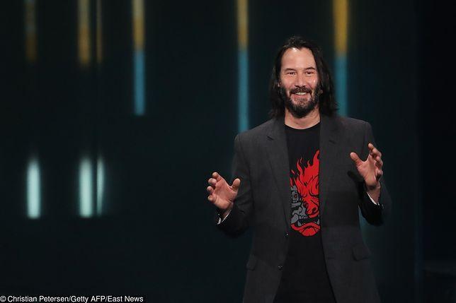"""Keanu Reeves w """"Cyberpunk 2077"""". Aktor pojawi się w polskiej grze komputerowej"""