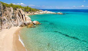 Ogromna liczba plaż na Chalkidiki może pochwalić się Błękitną Flagą