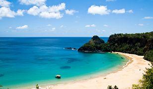 Sancho Bay Beach na wyspie Fernando de Noronha
