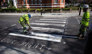 Władze miasta postanowiły wykorzystać trudny moment, by odmalować pasy