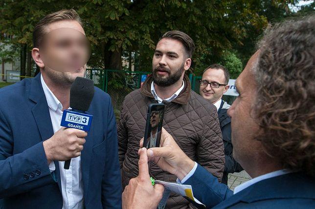 Dziennikarz TVP Łukasz S. z nowymi zarzutami. TVP: na razie nie wraca na wizję