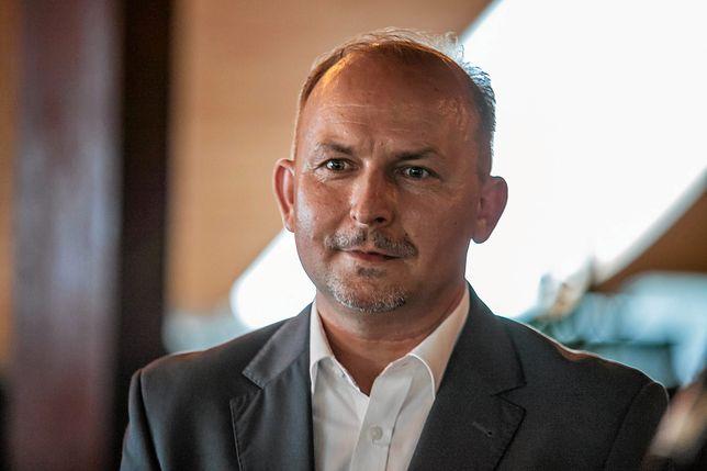 Robert Węgrzyn jest radnym sejmiku opolskiego