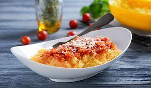 Dynia makaronowa z powodzeniem zastąpi klasyczną bazę spaghetti bolońskiego