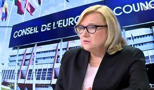 Beata Kempa w imieniu premiera Mateusza Morawieckiego podpisała umowę z Markiem Greenem, szefem US AID