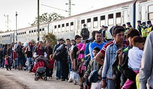 Uchodźcy protestują. Nie chcą sami zapłacić za czynsz i wodę.