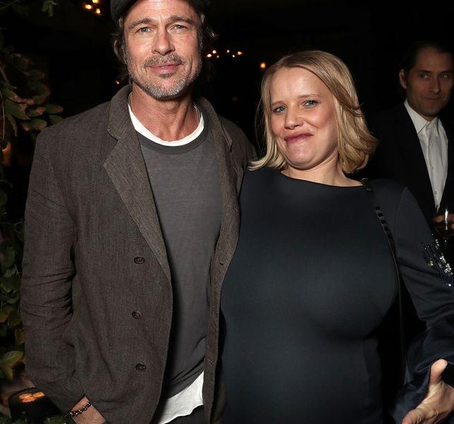 Joanna Kulig i Brad Pitt