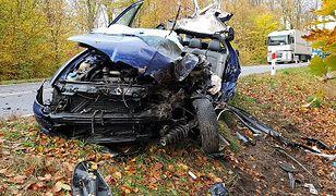 Kierowca zmarł mimo prowadzonej reanimacji