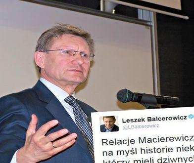 Balcerowicz ironicznie skomentował relacje Macierewicza z Misiewiczem. Przesadził?