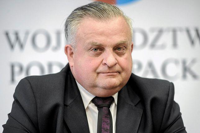 Stanisław Kruczek twierdzi, że nie chodziło mu o raka