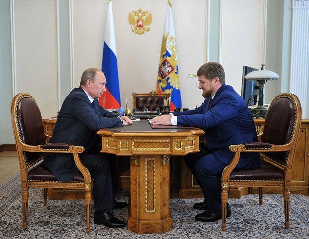 Władimir Putin i Ramzan Kadyrow