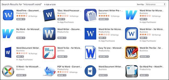 Mac App Store zasłynął swego czasu liczbą podrabianych aplikacji