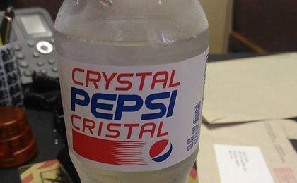 Przezroczysta Pepsi wraca na półki sklepowe