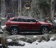 Niecodzienna reklama Jeepa Cherokee