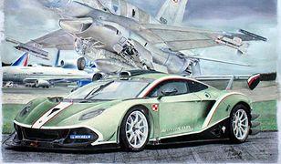 Polak za pomocą 14 kredek tworzy wyjątkowe obrazy z klasycznymi samochodami