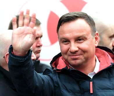 Andrzej Duda cieszy się popularnością
