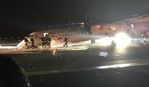 Nie ma ofiar, żaden pasażer nie ucierpiał