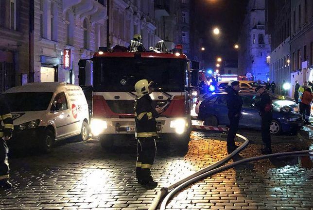 Pożar czterogwiazdkowego hotelu w centrum Pragi. Są zabici i ranni