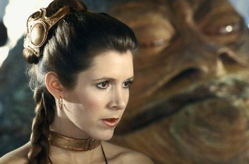 Carrie Fisher fot. Disney Carrie Fisher fot. Disney