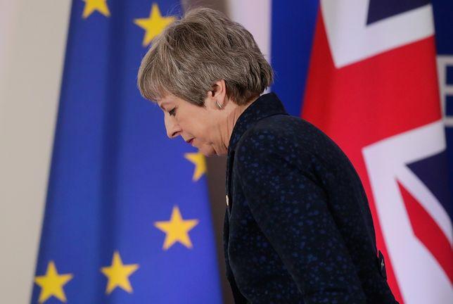 Wcześniej Theresa May pprosiła o wydłużenie terminu brexitu do 30 czerwca