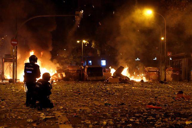 Katalonia w ogniu.