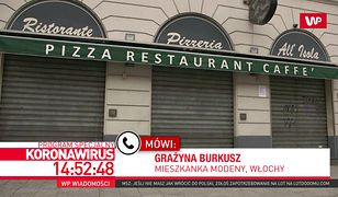 Koronawirus we Włoszech. Polka mówi, jak wygląda sytuacja