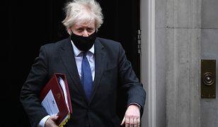 Koronawirus. Wielka Brytania: premier Boris Johnson mówił o wyższej śmiertelności spowodowanej nową mutacją wirusa