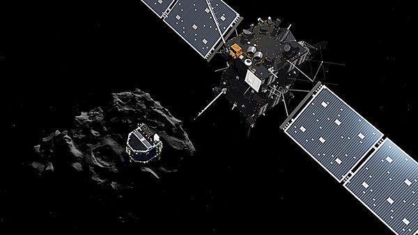 Efektowny koniec misji sondy Rosetta