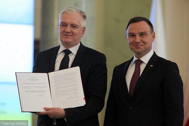 Strajk kobiet i aborcja w Polsce. Duda i Gowin szukają kompromisu