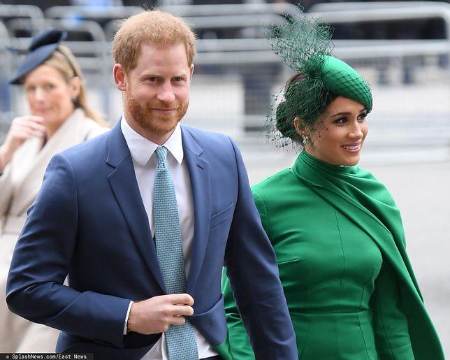 Meghan Markle i książę Harry opuszczają rodzinę królewską