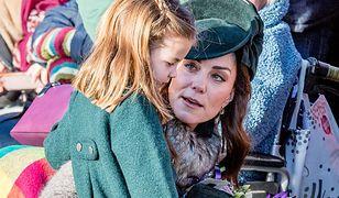 Kate Middleton i księżniczka Charlotte podpadły poddanym