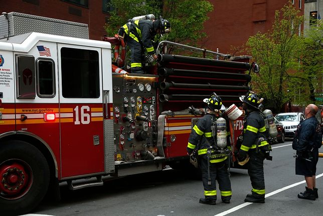 Eksplozja w Baltimore, zdjęcie ilustracyjne