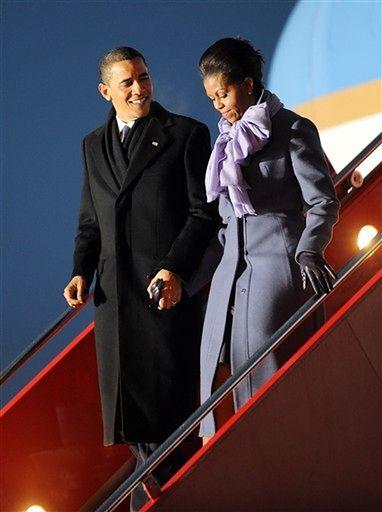 Zobacz jak Obama odbiera Nobla