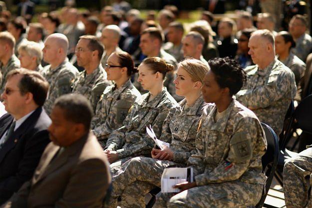 Amerykańskie żołnierki i żołnierze
