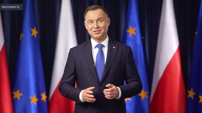 Wybory do Europarlamentu 2019. Prezydent Andrzej Duda wygłosił orędzie