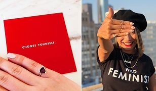 """Pierścionki """"samozaręczynowe"""" marki Fred&Far to hit wśród stylowych feministek"""